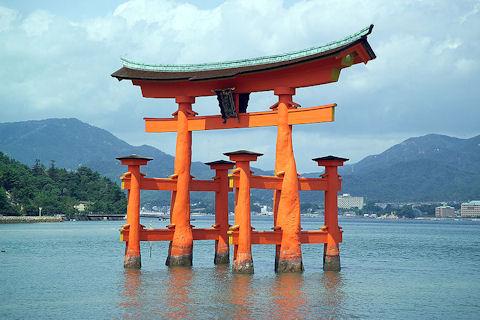 Itsukushima Island Torii Gate