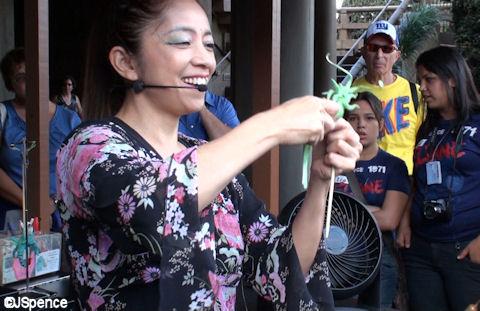 Miyuki Making Candy
