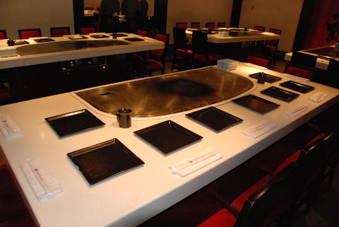 Teppan Edo Table
