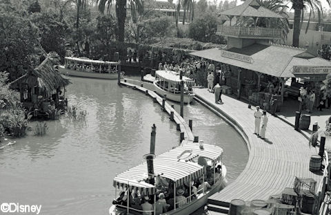 Jungle Cruise Loading Dock 1950's