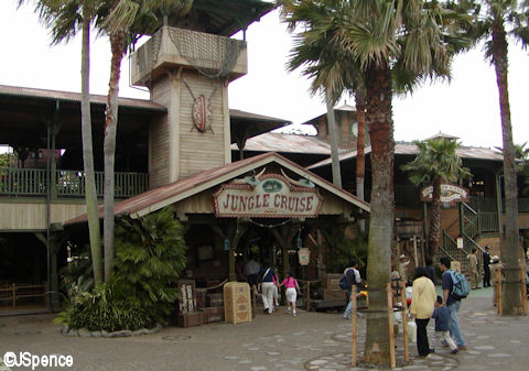 Jungle Cruise at Tokyo Disneyland