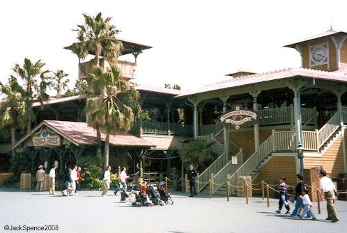 Jungle Cruise Train Tokyo Disneyland