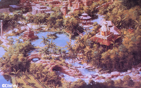 Kali River Rapids Concept Art