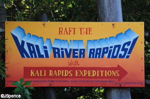 Kali Rapids Expeditions Sign