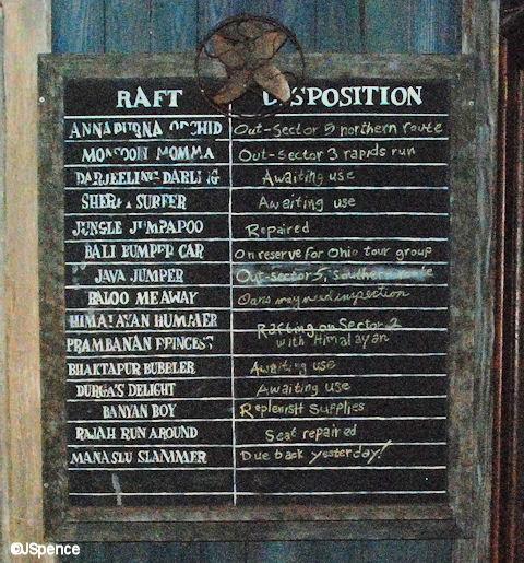 Raft Chalkboard