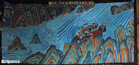 Rafting Painting