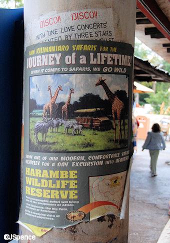 Kilimanjaro Safaris Poster