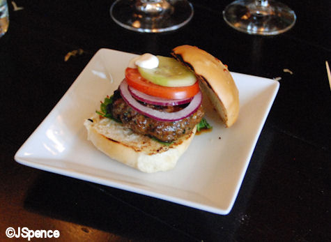 Oak-grilled Lamb Burger
