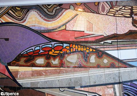 Left Mural