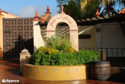 Adventureland Fountain