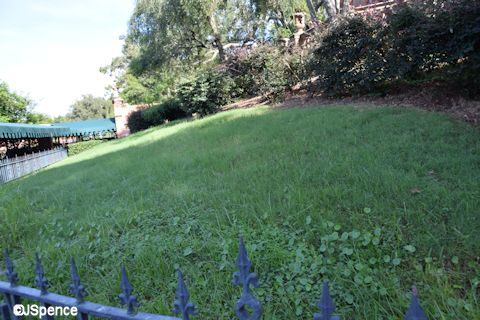 Haunted Mansion Lawn