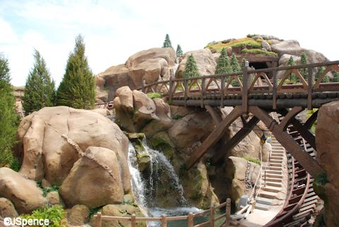 Seven Dwarfs' Mine Train