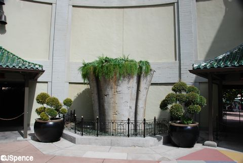 Chinese Theater Planter