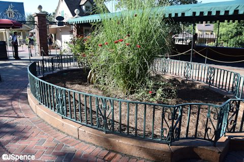Haunted Mansion Flowerbed