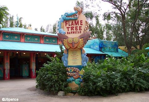 Flame Tree Barbeque