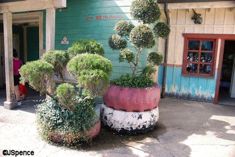 Tire Planters