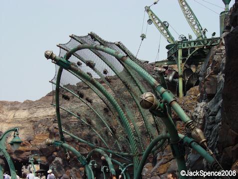 Mount Prometheus Lava at Mysterious Island at Tokyo DisneySea