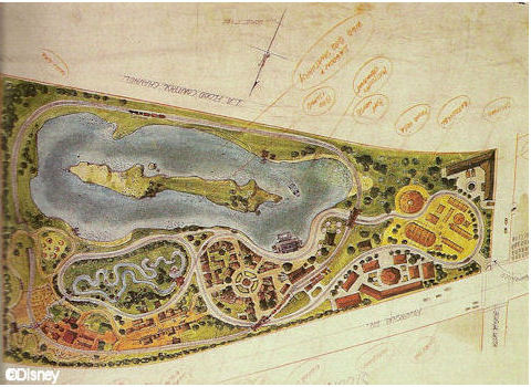 Early Theme Park Plans