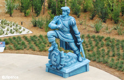 Prince Eric Statue
