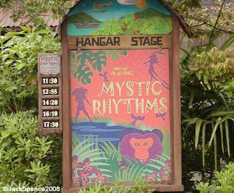 Mystic Rhythms Sign Lost River Delta Tokyo DisneySea