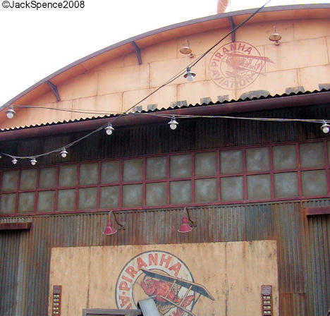 Hangar Stage home of Mystic Rhythms Lost River Delta Tokyo DisneySea