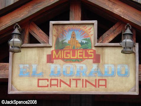 Miguel's El Dorado Cantina Lost River Delta Tokyo DisneySea