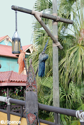 Adventureland Entrance Lamppost