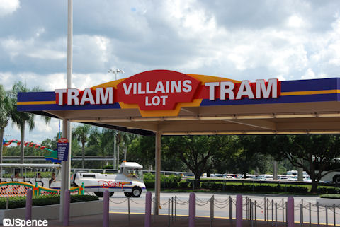 Villains Loading Area