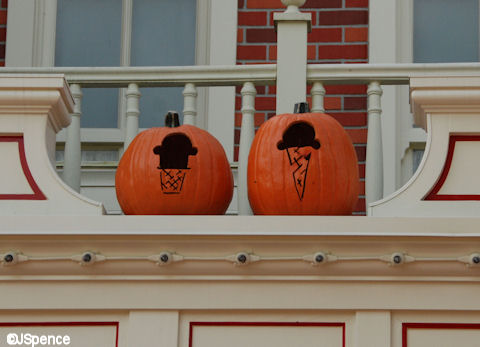 Plaza Ice Cream Parlor Pumpkins