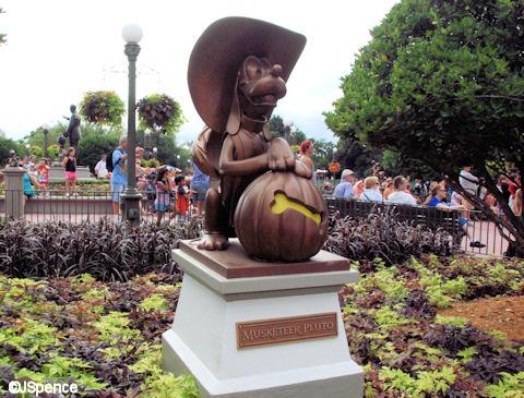 Hub Character Statues