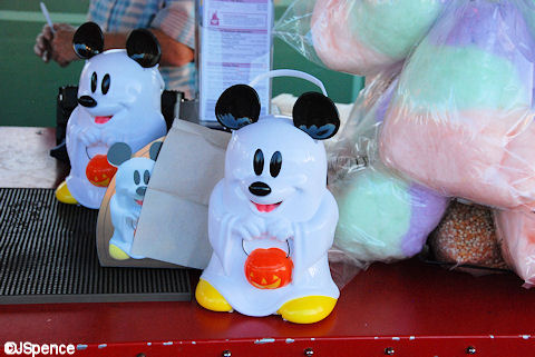 Ghost Mickey Popcorn Bucket