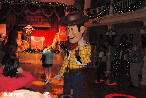 Woody's Hootin' Holiday Open House