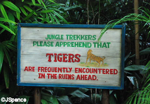 Jungle Path Sign