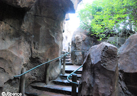 Stairs to Tigers