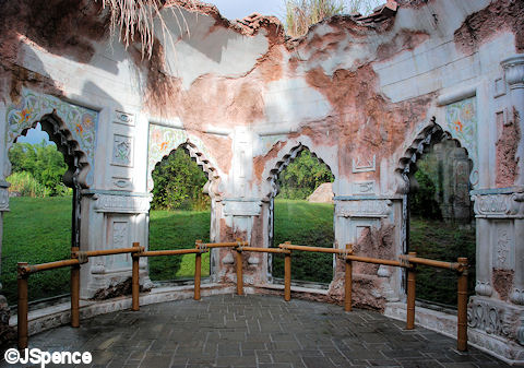 Tiger Viewing Area