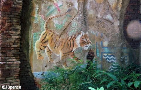 Tiger Fresco