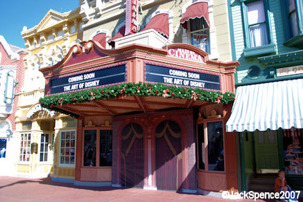 Main Street Cinema to become Art of Disney Shop