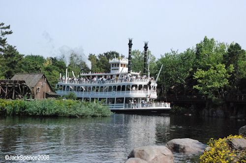 Mark Twain Riverboat Tokyo Disneyland