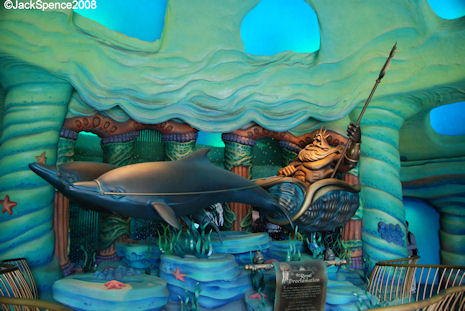 Triton's Kingdom at Mermaid Lagoon at Tokyo DisneySea