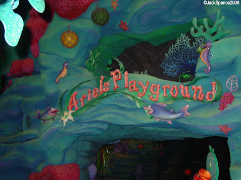 Ariel's Playground  at Mermaid Lagoon at Tokyo DisneySea