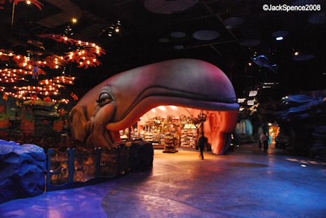 Sleepy Whale Shoppe at Mermaid Lagoon at Tokyo DisneySea