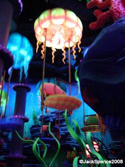 Jumpin' Jellyfish at Mermaid Lagoon at Tokyo DisneySea