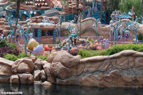 Scuttle's Scooters at Mermaid Lagoon at Tokyo DisneySea