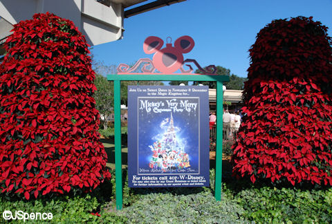 Christmas Party Entrance Sign
