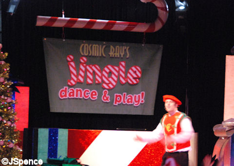 Cosmic Ray's Jingle Dance & Play