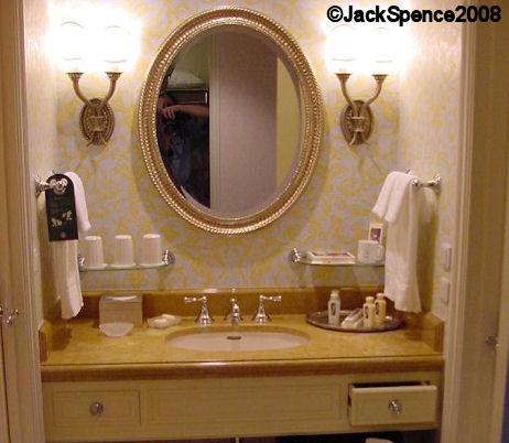 MiraCosta Hotel Guest Bathroom Tokyo Disneyland