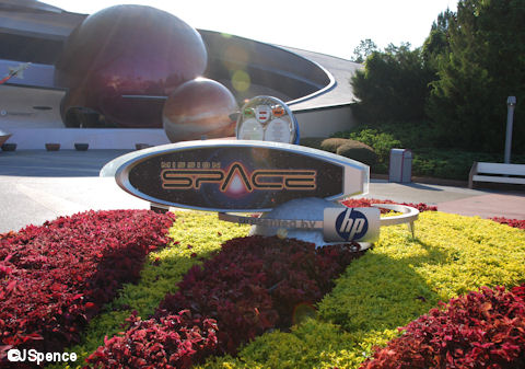 Mission: SPACE Sign