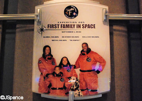 First Family In Space