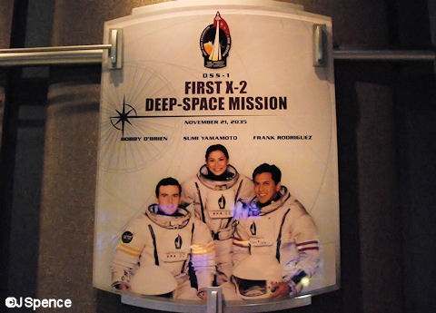 First X-2 Deep Space Mission