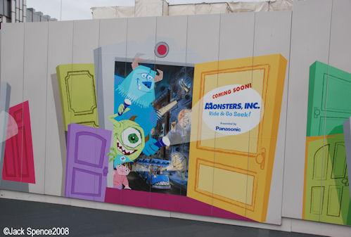 Monsters, Inc. Ride and go Seek Tokyo Disneyland